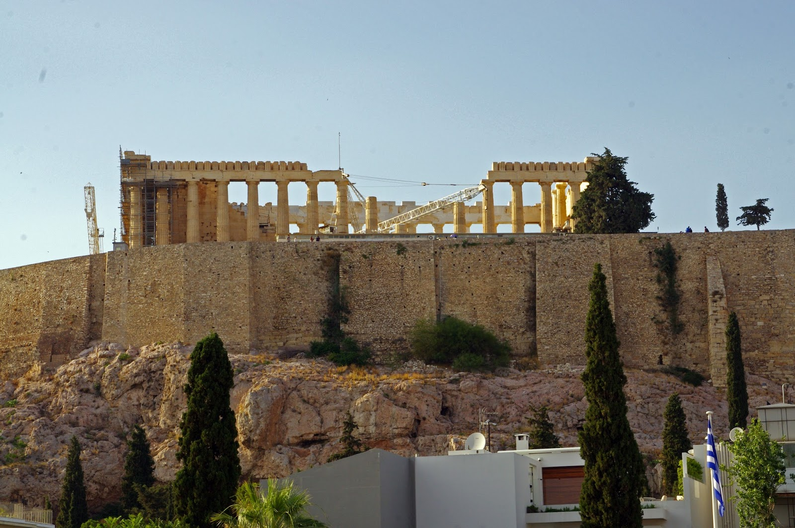 The Herodion Hotel Views of Parthenon