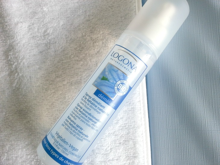 avis sur le spray démêlant pour cheveux Logona