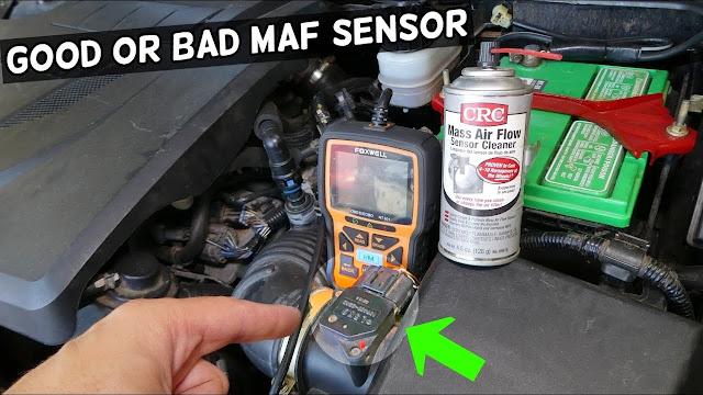 como saber si el sensor maf esta danado