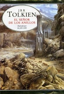 Portada de El Señor de los Anillos de JRR TOLKIEN