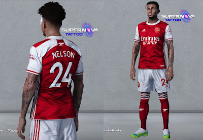 PES 2020 Tatoo Reiss Nelson by Supernova