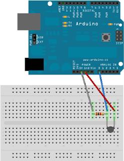 arduino projekte temperatur wird getwittert. Black Bedroom Furniture Sets. Home Design Ideas