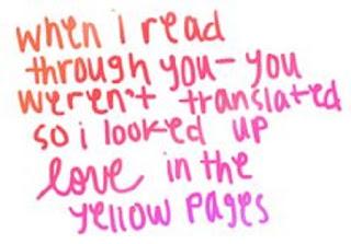 Ed Sheeran Lyrics - Yellow Pages