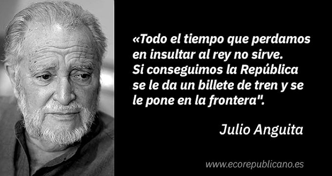 IN MEMORIAM | Las 20 grandes frases de Julio Anguita