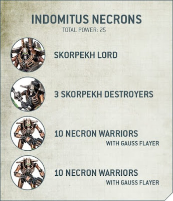 Patrulla Necrones