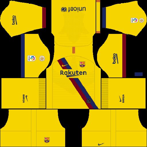 512×512 Barcelona kits 2019-2020