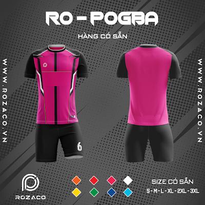 Áo Không Logo Rozaco RO-POGBA Màu Hồng