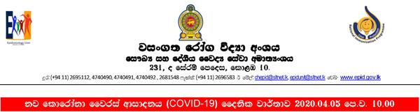 covid report sri lanka 1