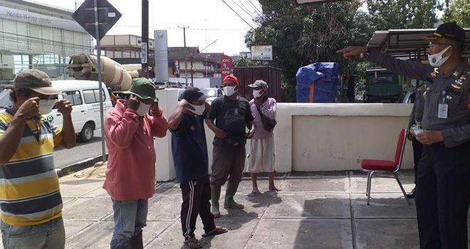 Warga Kota Jambi Sudah Tak Perduli Lagi, Banyak Warga yang Tak Gunakan Masker