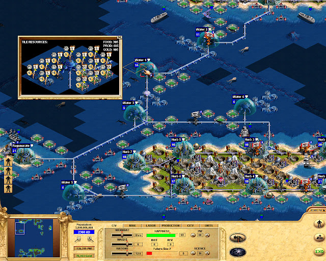 Civilization: Call to Power sea colony