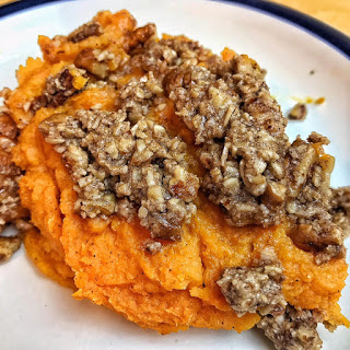 sweet potato mash recipes, non dairy recipe, sweet potato casserole recipes, jaime messina, beachbody coach, dairy free, vegetarian, lgbt beachbody