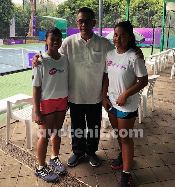 WTA FUTURE STARS - Indonesia Qualification: Hasil Pertandingan Rabu 28 Agustus 2019