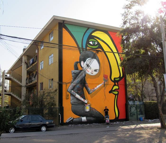 """Невероятный стрит-арт. Julien """"Seth"""" Malland"""