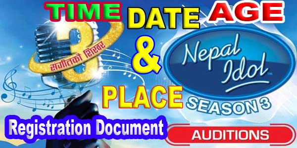 Nepal Idol Season 3 Auditions