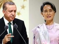 Presiden Erdogan Berbicara Langsung Kepada Pemimpin Myanmar terkait Krisis Rohingya