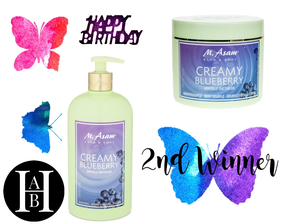 2nd place - 2nd win Blog Birthday Give Away - win a Birthday Goodie Bag, posted by Annie K, Fashion and Lifestyle Blogger, Founder, CEO and writer of ANNIES BEAUTY HOUSE - a german fashion and beauty blog