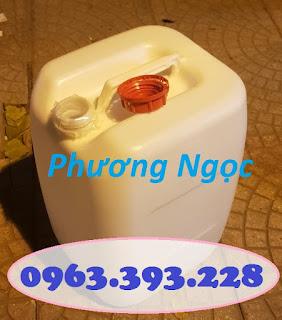 Can nhựa HDPE nguyên sinh, can nhựa 30 Lít vuông, can đựng hóa chất 30L C11d7df48e2777792e36