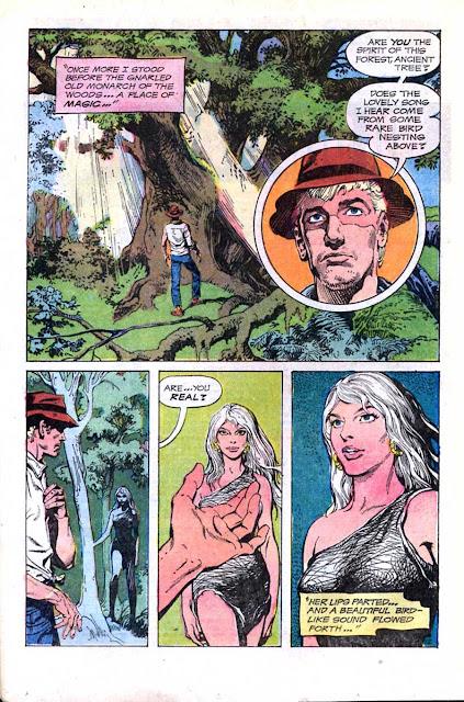 Rima the Jungle Girl v1 #1 dc bronze age comic book page art by Nestor Redondo
