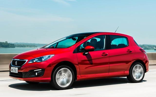 Peugeot 308 - o carro menos vendido do Brasil em 2018
