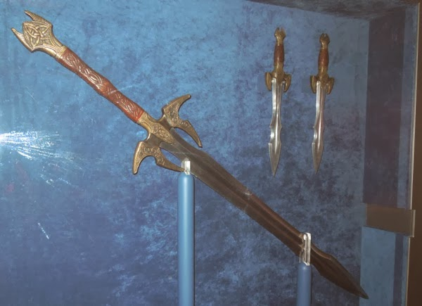 Heimdall weapon props Thor Dark World