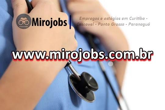 Vagas de emprego em Curitiba e Região Metropolitana. Ponta Grossa e região, Paranaguá, Litoral e Cascavel.