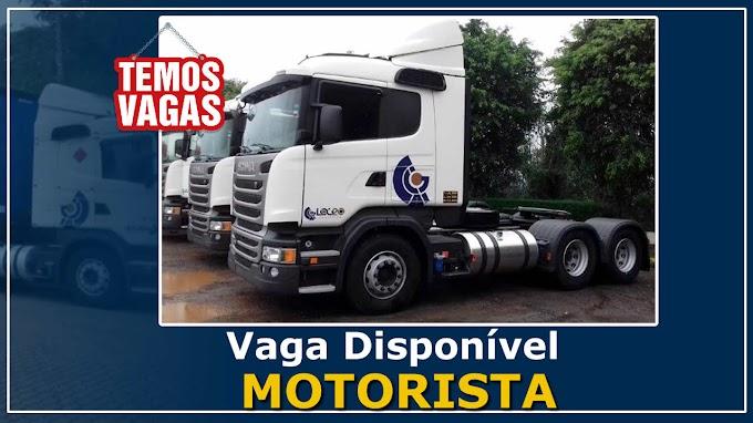 Transportadora Log 20 abre vagas para Motorista Vuc/Toco