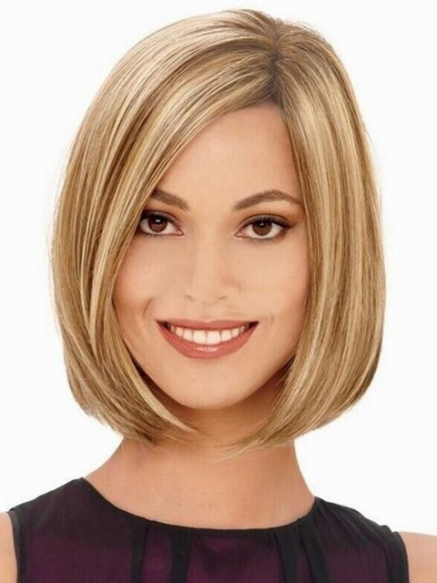 Astounding Short Medium Blonde And Brown Hairstyles Ideas For Young Women Hairstyles For Men Maxibearus