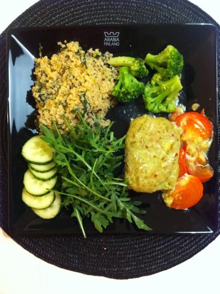 helppoa hyvää ja terveellistä ruokaa