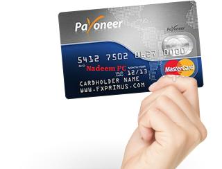 Get Payoneer Master Card In Pakistan (Earn 25$ Bonus)