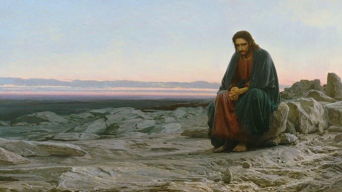 Papel de Parede Jesus Cristo Sozinho