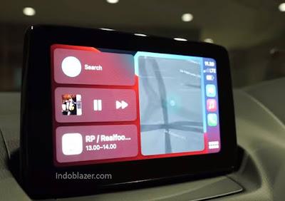 head unit mazda cx-3 apple carplay dan android auto