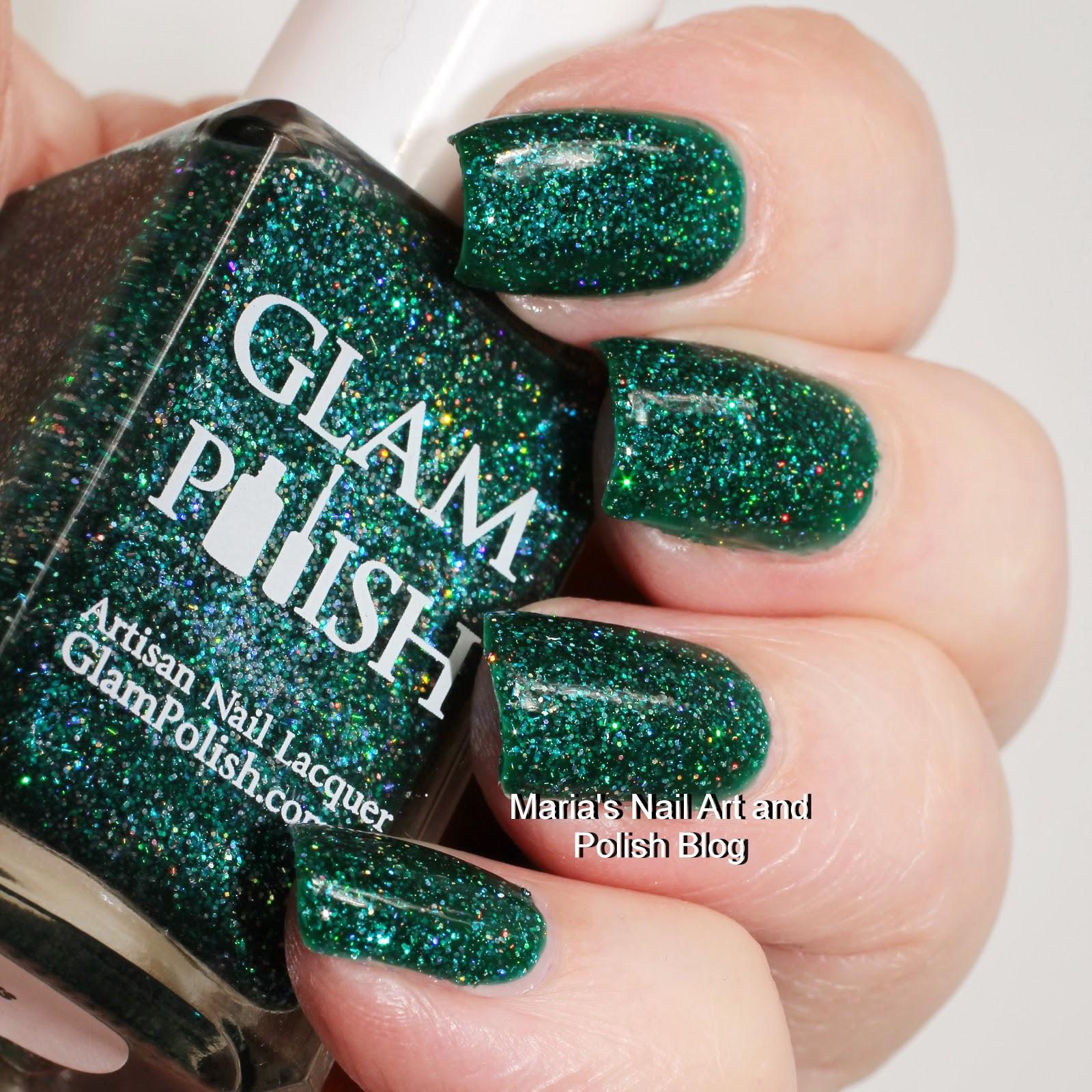 Marias Nail Art And Polish Blog Flushed With Stripes And: Marias Nail Art And Polish Blog: Glam Polish Taurus