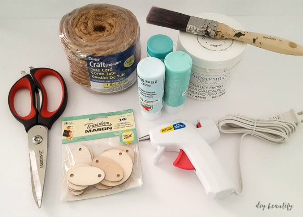 supplies to make a rope bowl