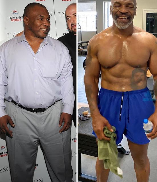 La transformación de Mike Tyson