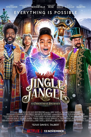 Jingle Jangle: A Christmas Journey (2020) Full Hindi Dual Audio Movie Download 480p 720p Bluray