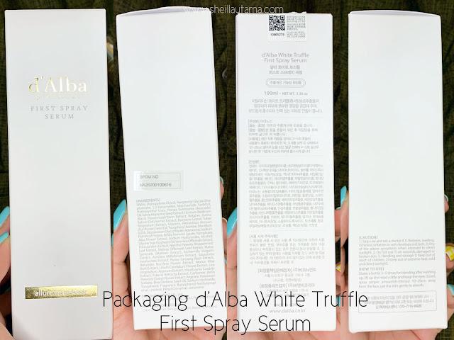 Review d'Alba White Truffle First Spray Serum