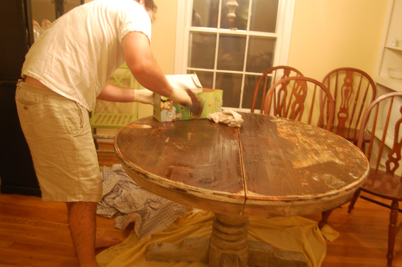 Smith Smattering Adventures In Chalk Painting My Table