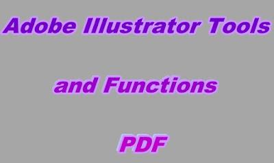 Adobe Illustrator Tools and Functions PDF