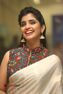 Syamala Pictures in Saree at Hyper Movie Trailer Launch ~ Celebs Next