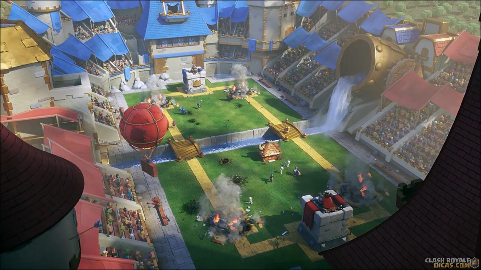 Wallpaper Clash Of Clans 3d Novo Comercial Do Clash Royale O 250 Ltimo Segundo Clash