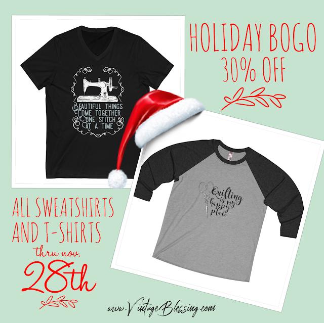 T-shirt and Sweatshirt Christmas sale