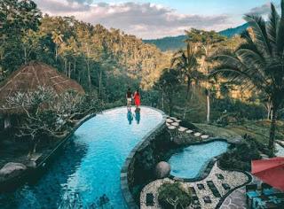 tropical honeymoon places - Ubud Bali