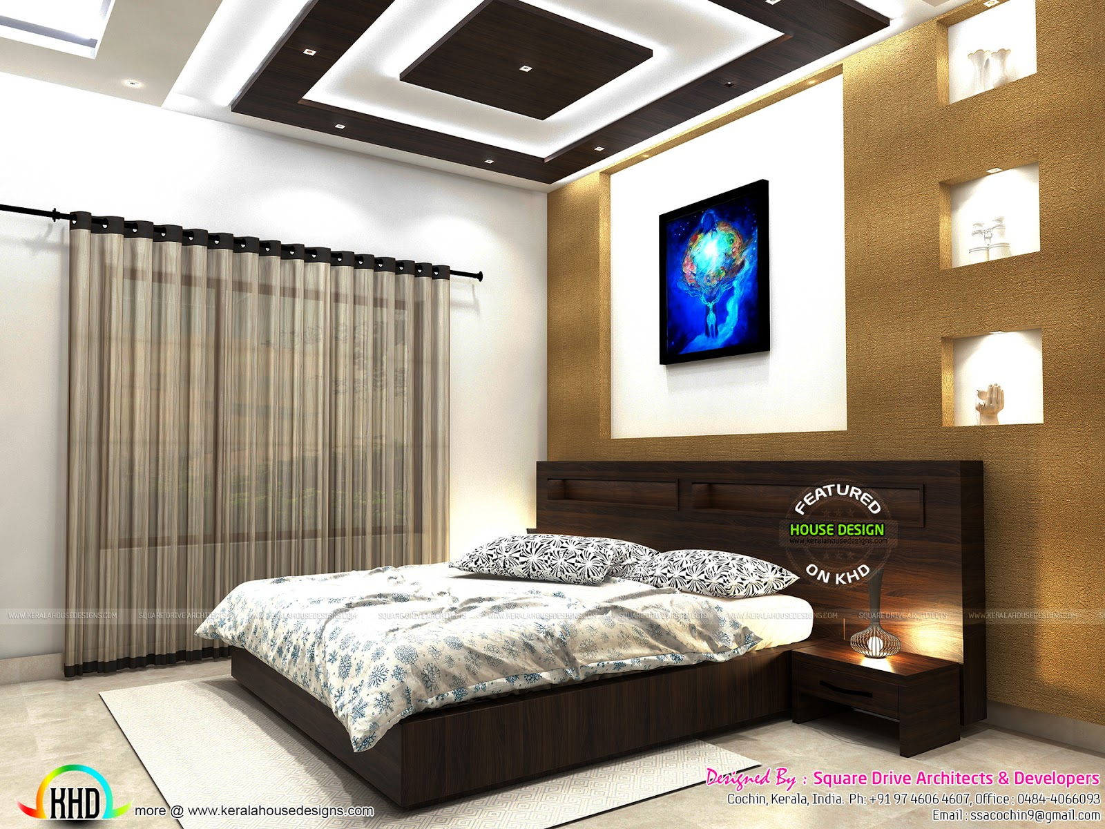 Living Room Bedroom Pink Colored Girls Bedroom Kerala Home Design And Floor Plans