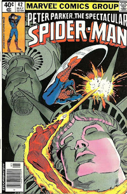Spectacular Spider-Man #42, the Human Torch