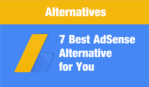 top 7 best Google Adsense alternatives for low traffic blogs.