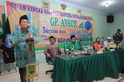 Mas'ud Yunus Pasang Target Kota Mojokerto Bersih Narkoba 2019