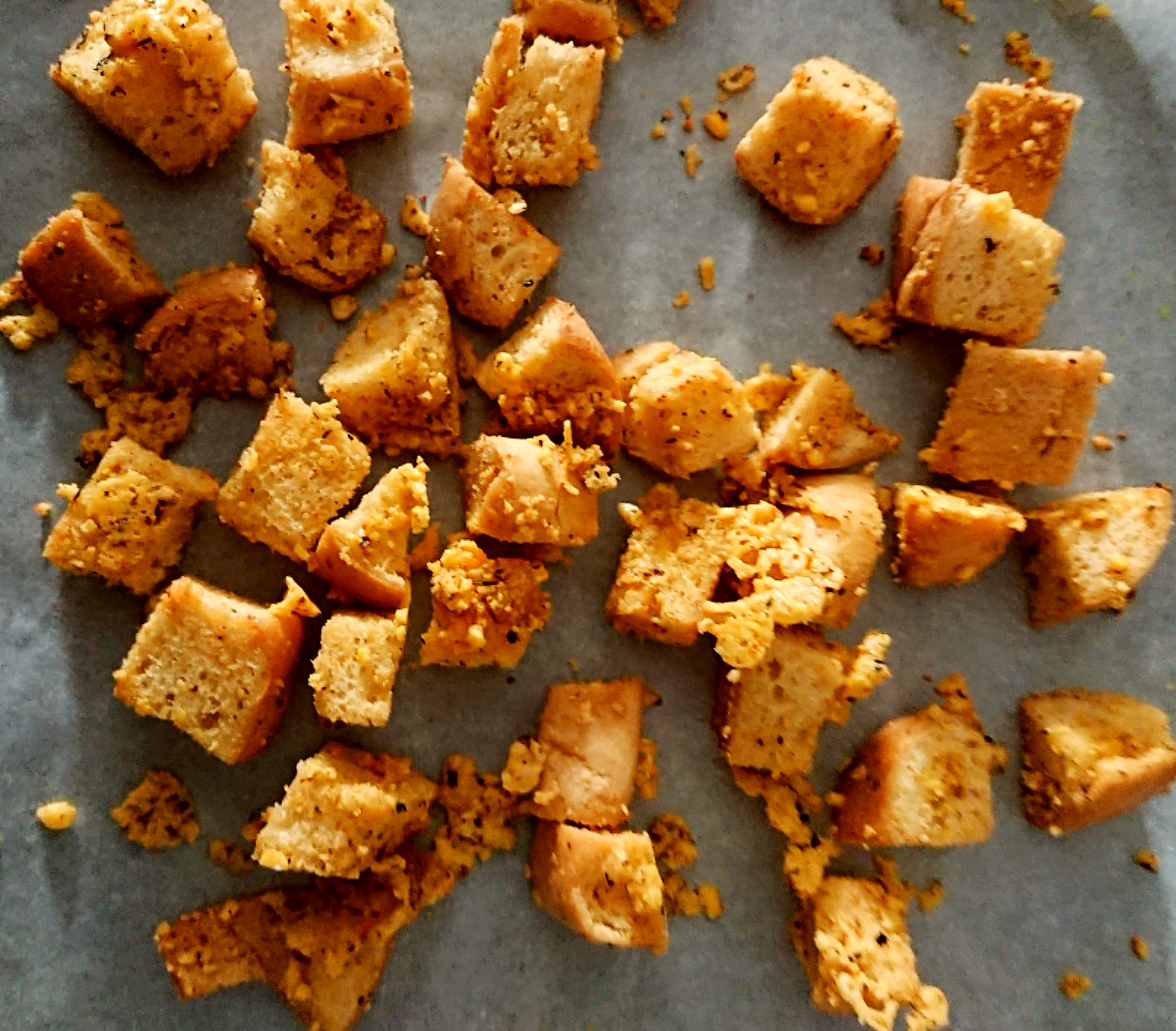 gluten and dairy free cheese croutons