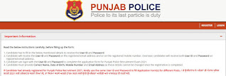 Punjab Police Recruitment 2021 4358 Constable Posts