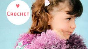 Abrigo con glamour para las más chiquitas / Paso a paso Crochet
