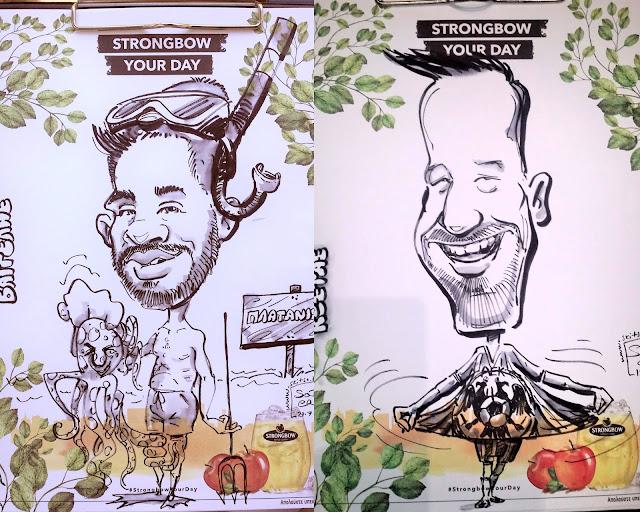 προωθητική καμπάνια προϊόντος τέχνη σκίτσο καρικατούρες soter